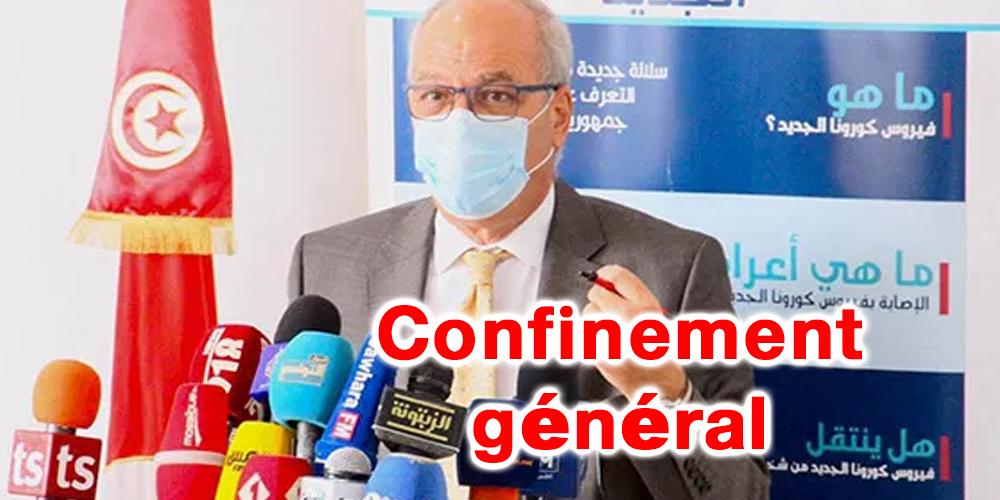 Tunisie : Un confinement général sera observé dans ce cas