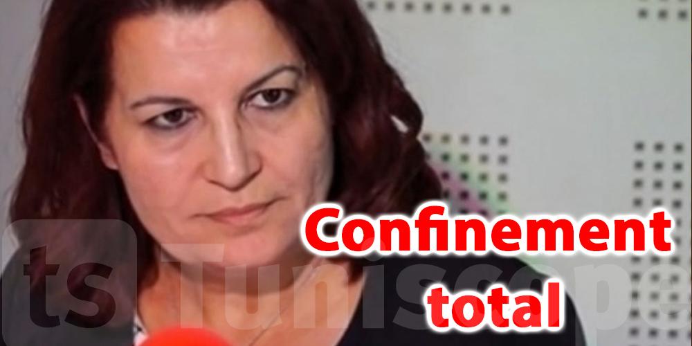 Samira Meraï favorable à un confinement total d'une semaine