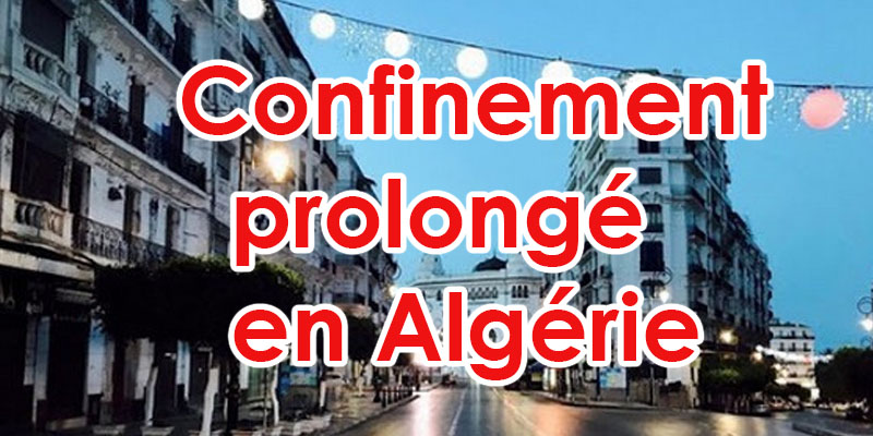 Algérie: Reconduction de confinement jusqu'au 29 avril