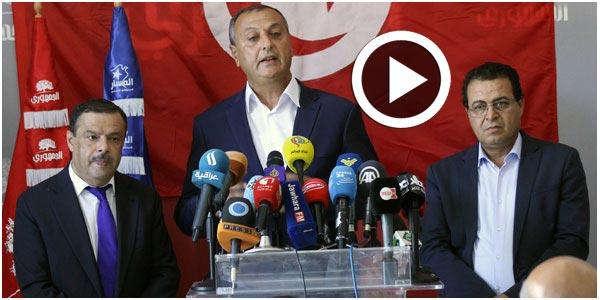 En vidéos : Al-Jomhouri, Al-Massar et le mouvement Echaab s'accordent à dire que Chahed n'est pas l'homme de l'étape
