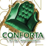 Découvrez la nouvelle collection Conforta au salon du meuble de Tunis du 6 au 15 février 2015
