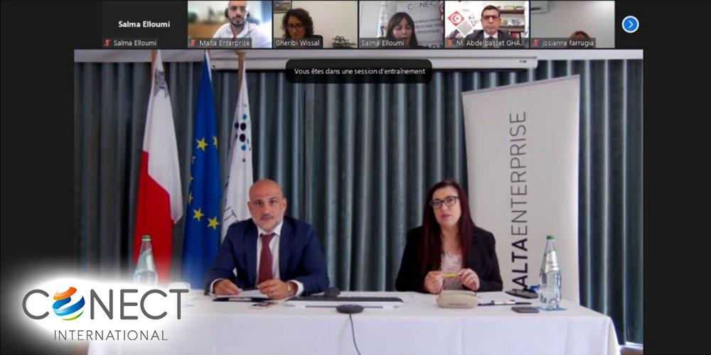 Webinaire  « Promouvoir l'investissement entre Malte et la Tunisie »