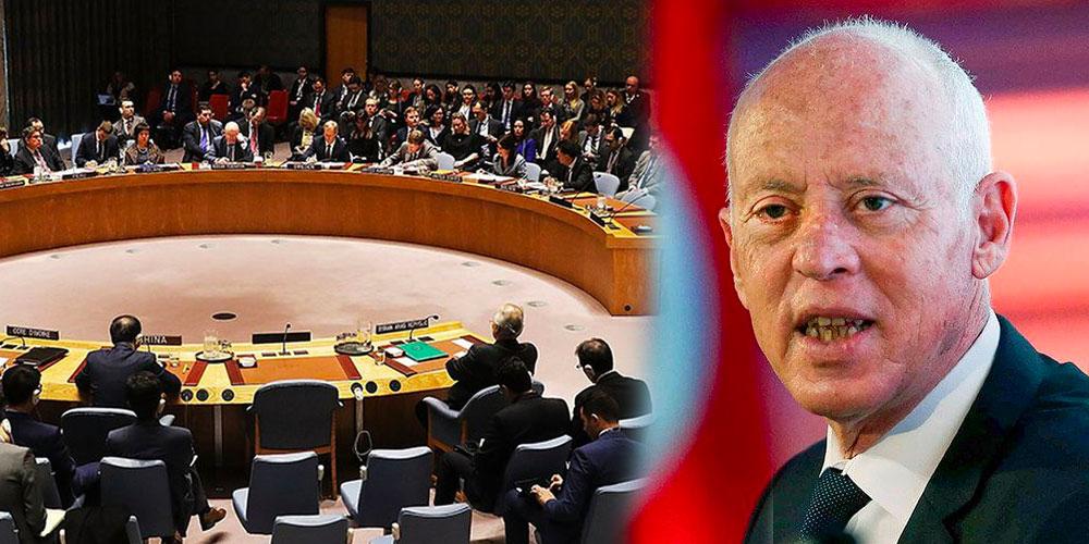 بتعليمات من قيس سعيّد، طلب جلسة لمجلس الأمن بشأن التصعيد في القدس