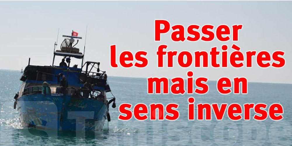 Deux Tunisiens, venant d'Italie, essayent de passer illicitement les frontières