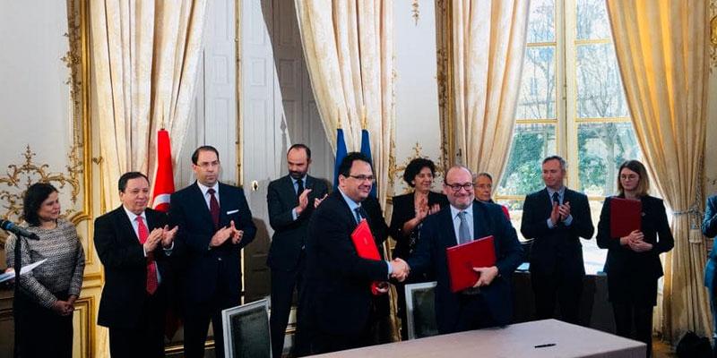 Signature d'une convention entre la France et la Tunisie dans le secteur de la santé