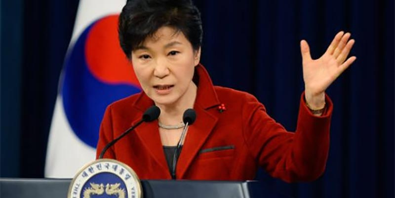 السجن 8 سنوات في حق الرئيسة الكورية الجنوبية السابقة