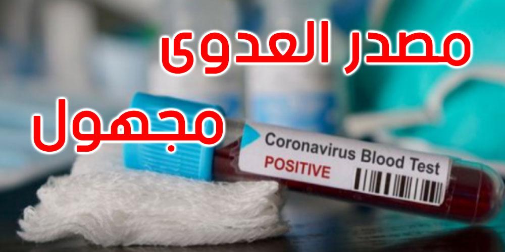 قرمبالية : إصابة امرأة بفيروس كورونا