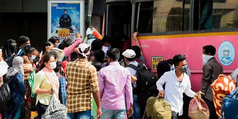 الإصابات بكورونا تتجاوز 600 ألف بالهند