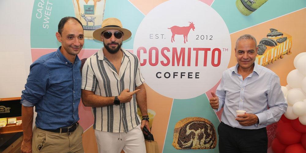 Ouverture des deux nouveaux food corners Cosmitto et Storia dans la station autoroutière TotalEnergies Grombalia