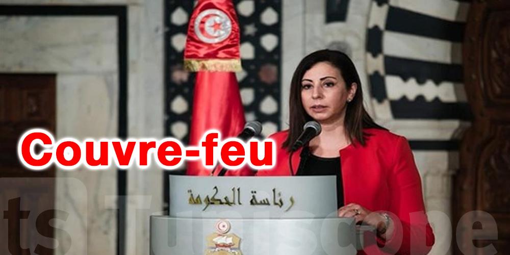 Tunisie-dernière minute : L'horaire du Couvre-feu