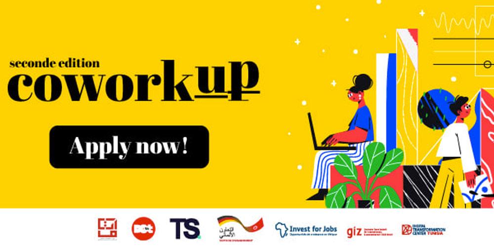 Appel à candidatures aux profits des espaces de Coworking et d'autres programmes de soutien aux startups