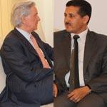 عماد الدائمي يستقبل السفير الفرنسي بتونس فرنسوا غويات بمقر المؤتمر من أجل الجمهورية