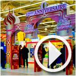En vidéo : Ambiance du 12ème anniversaire de Carrefour