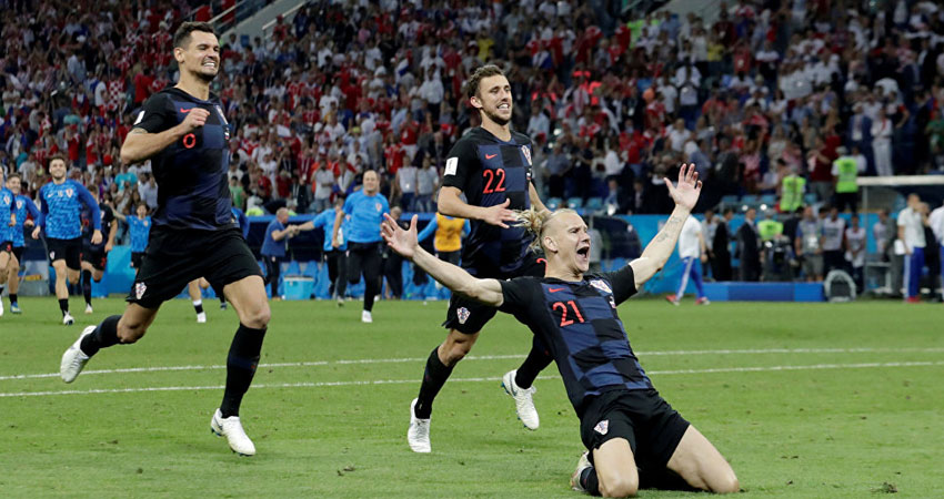 كرواتيا تتأهل لنصف النهائي في مونديال روسيا 2018