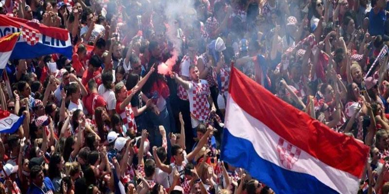 استقبال خيالي لأبطال منتخب كرواتيا
