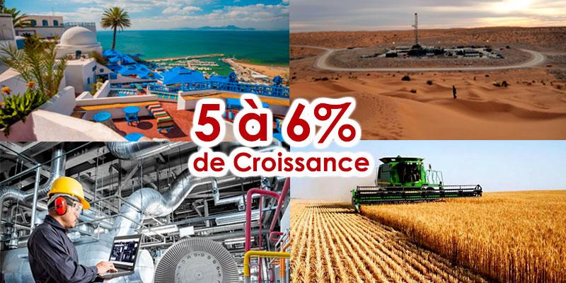 Banque Mondiale : La Tunisie doit réaliser une croissance de 5 à 6%