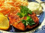 Croquettes au poulet et aux champignons