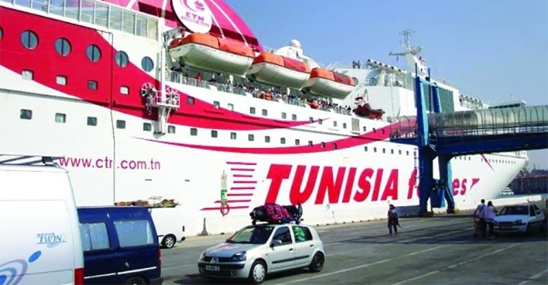 الشركة التونسية للملاحة تعلن عن  موعد فتح الحجز للموسم الصيفي 2019