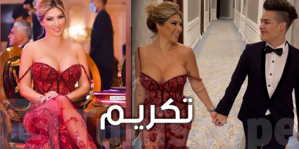 تكريم مريم الدباغ في أوسكار العرب