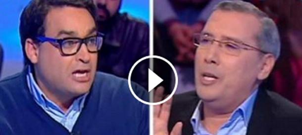 En vidéo : Débat houleux entre Borhane Bsaïes et Chakib Derouiche à propos de Ben Ali