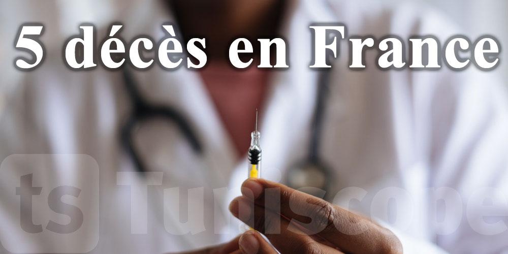 5 décès de personnes vaccinées en France, aucun lien établi?