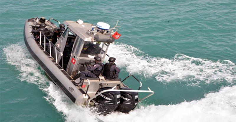 قليبية: ضبط 7 اشخاص بصدد التحضير لاجتياز الحدود البحرية خلسة