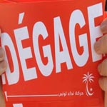 Nidaa Tounes distribue des tracts 'dégage'