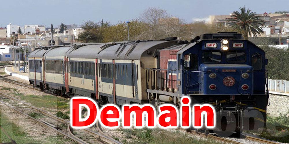 Reprise, demain, du trafic des trains sur la ligne Tunis-Kalâat Khasba