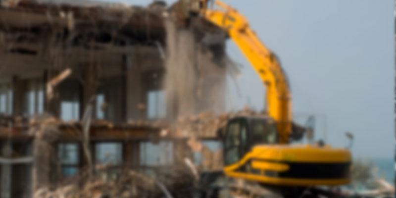 Démolition de 4 constructions anarchiques à Menzel Jemil