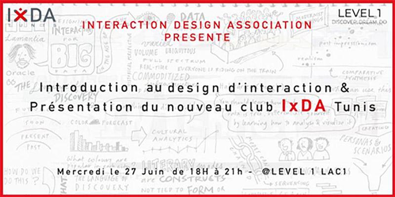 Lancement du premier club dédié au design d'interaction en Tunisie