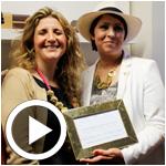 En Vidéos : Ines Boujbel, fondatrice de Deyma, reçoit le prix de la Femme chef d'entreprise de l'année 2014