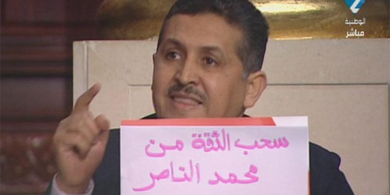 صورة اليوم : عماد الدّايمي يطالب بسحب الثقة من محمّد النّاصر