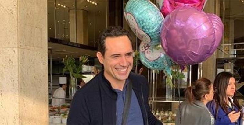 صور: هكذا احتفل ظافر العابدين بعيد ميلاده الـ46