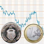 L'euro passe le cap des 2,2 dinars