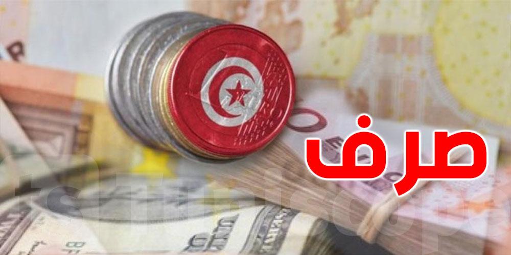 تحيين، سعر صرف الدينار مقابل العملات الأجنبية