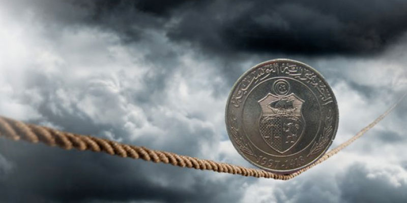 Le dinar tunisien continue à chuter face à l'Euro