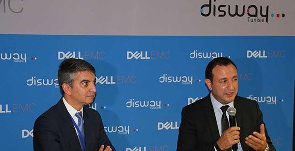 DISWAY et DELLEMC ensemble pour les solutions de stockage, virtualisation et archivage