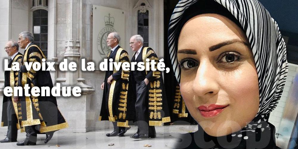 Raffia Arshad, la première femme en hijab qui devient juge au Royaume-Uni