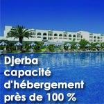 Djerba : Capacité totale d'hébergement près de 100 %
