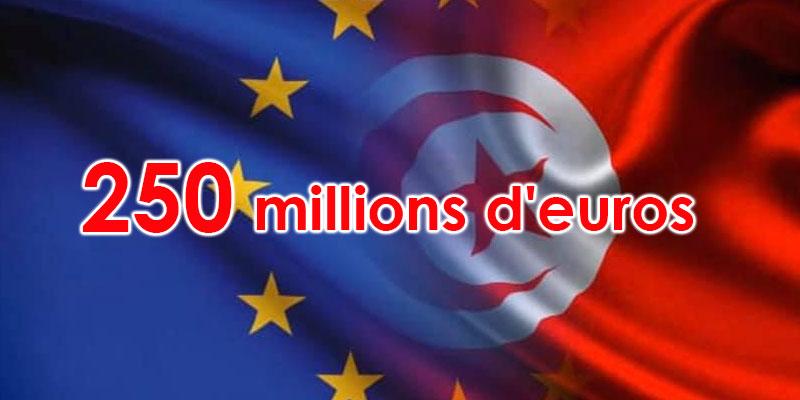 Don européen de 250 millions d'euros au profit de la Tunisie