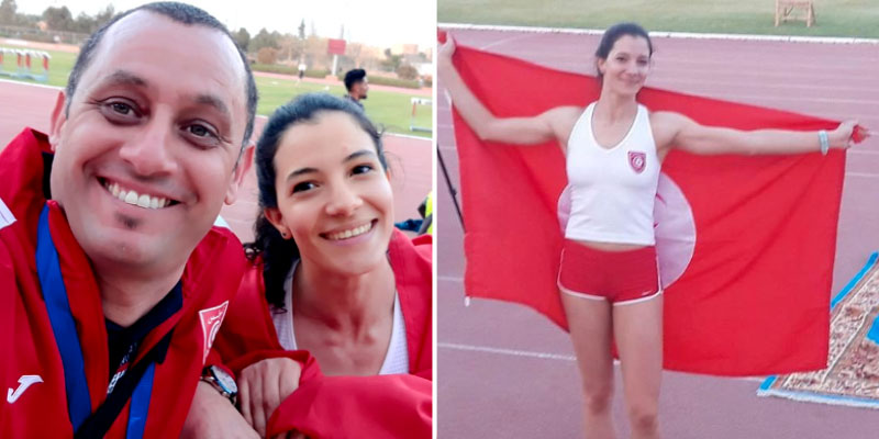 Championnats Arabes 2019 : Qui est Dorra Mahfoudhi, la tunisienne qui a décroché la médaille d'or du saut à la perche