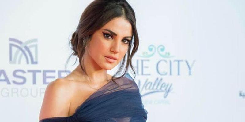 En photos : Dorra Zarrouk boycottée par la presse égyptienne ?