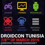 Droidcon Tunisie 2015 les 7 et 8 Mars 2015 à Hammamet