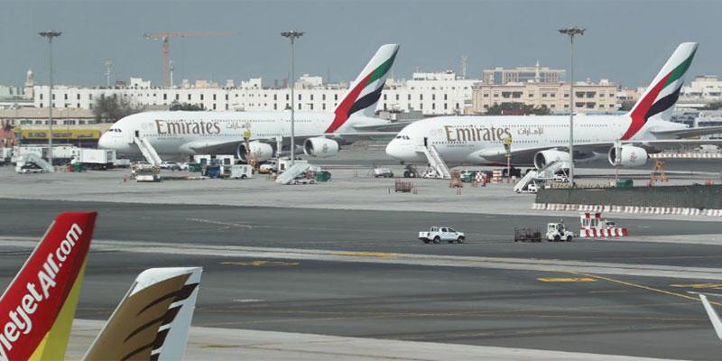 طائرات درون تعطّل رحلات مطار دبي مؤقتا