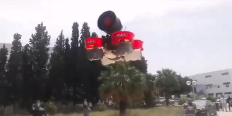 Un drone innové par les étudiants de Sfax pour surveiller le respect du confinement