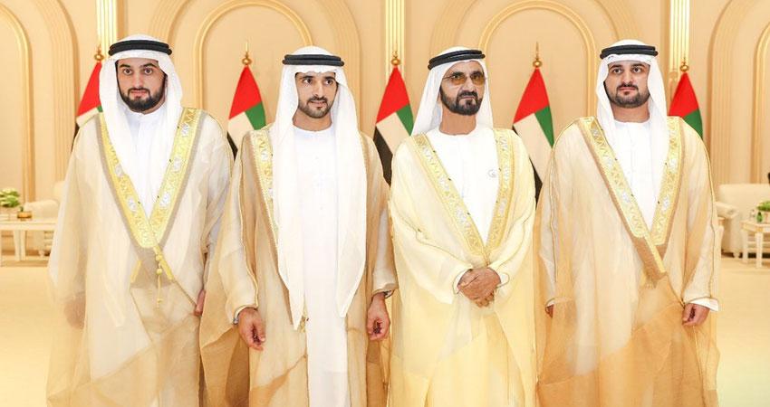 حفل زفاف ثلاثة أبناء لحاكم دبي محمد بن راشد آل مكتوم