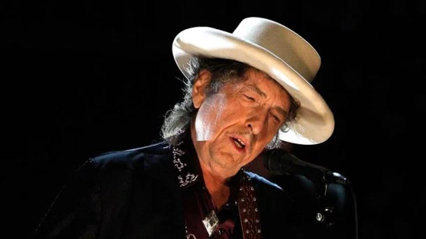 Le Nobel de littérature au chanteur américain Bob Dylan