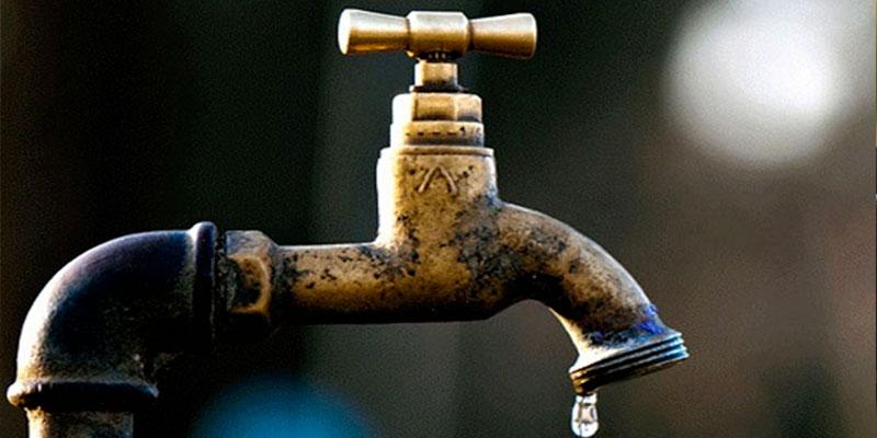 Perturbations dans la distribution de l'eau potable à Ben Arous et Zaghouan