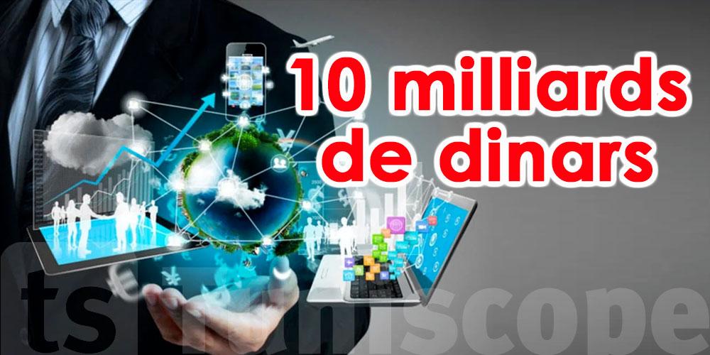 10 milliards de dinars pourraient provenir de l'économie numérique