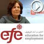 En vidéo-'Education pour l'emploi' honore 42 lauréats tunisiens : Lamia Chaffai Sghaier explique